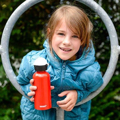 botella agua aluminio